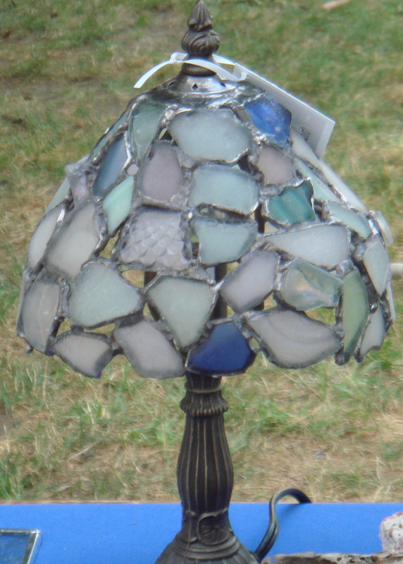 Sea Glass Lamp Shades - Gull Cottage Crafts